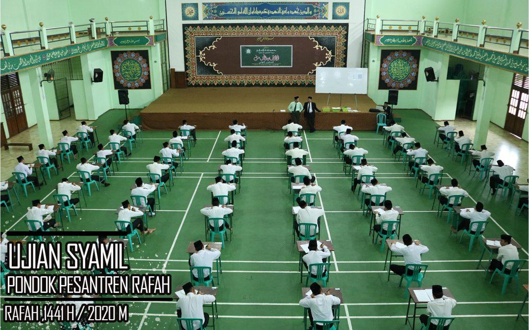 Kegiatan Ujian Syamil Kelas Akhir 2020